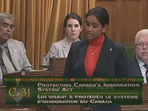 "Rathika Sitsabaiesan - March 12, 2012 - C-31 ""Protecting Canada's Immigration System Act"""