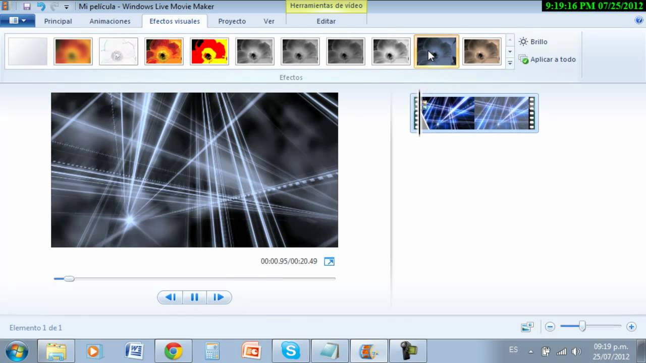 Como hacer un intro en Windows Live Movie Maker - YouTube
