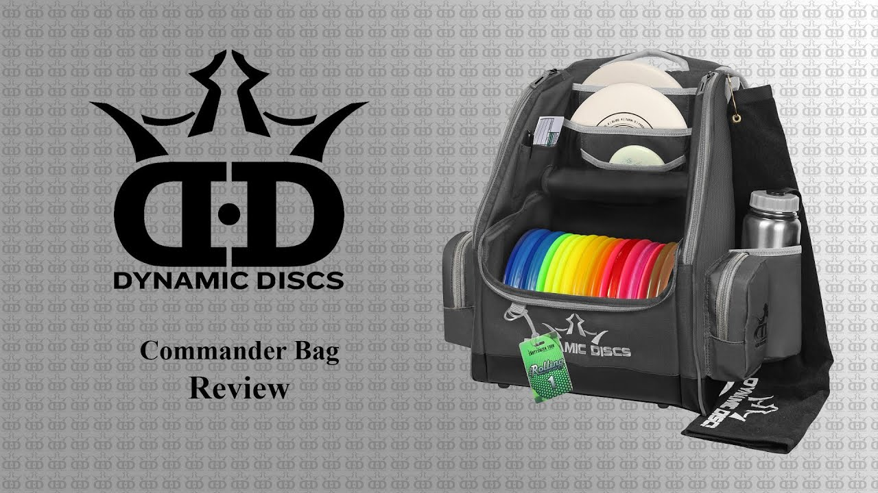 Dynamic Discs Commander Backpack Bag Review