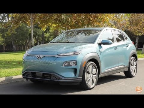 2019 Hyundai Kona Electric Crossover First Drive Video Review