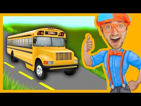 Thumbnail: Blippi Wheels On The Bus | Songs For Toddlers