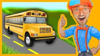 Blippi Wheels On The Bus | Songs For Toddlers thumbnail