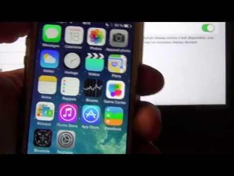 """Tuto : comment faire le """"partage de connexion"""" avec un iphone"""
