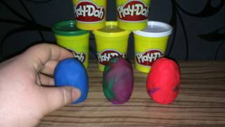 Play Doh Color Surprise Eggs Toys Collection ep 1