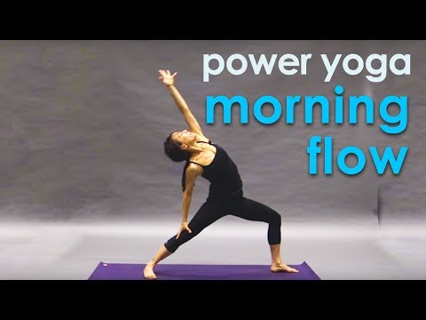 Power Yoga Workout ~ Morning Flow (26 min)