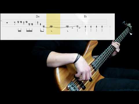 Paramore - Told You So (Bass Cover) (Play Along Tabs In Video)