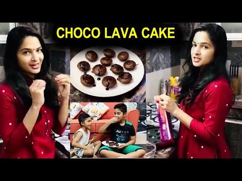 Bigg Boss Siva Balaji wife Madhumitha Preparing Bakery Style Choco Lava Cake || EasyCookBook