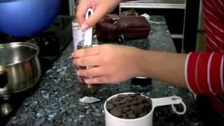Mari Memasak: Hershey's Mocha Molten Chocolate Cake! Yummy! :d