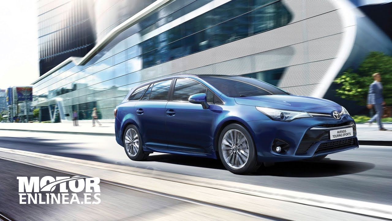 toyota avensis touring sports 2016 youtube. Black Bedroom Furniture Sets. Home Design Ideas