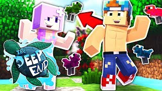TAMING BIRDS WITH IHASCUPQUAKE!! | Minecraft The Deep End SMP #15