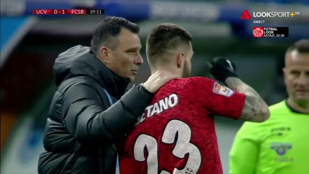 GOOOOL!  U Craiova - FCSB 0-1. Man deschide scorul în derby-ul etapei cu un șut la colțul scurt