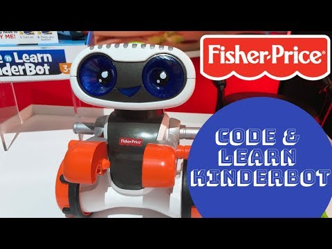 Fisher Price Code & Learn Kinderbot NYTF19