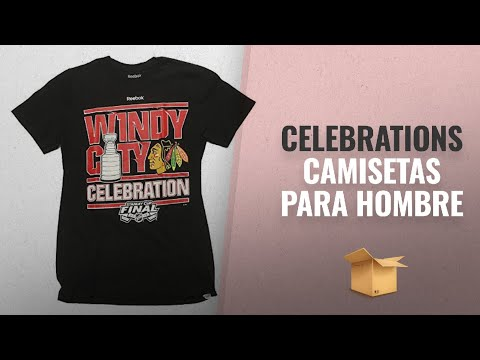 10 Mejores Celebrations 2018: Chicago Blackhawks Reebok 2015 Stanley Cup Windy City Celebration