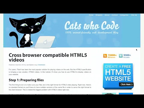 Cross Browser HTML Video | Web As A Gaming Platform | JQuery 2.0 | The Treehouse Show Episode 39