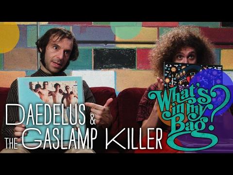 Daedelus & The Gaslamp Killer - What's In My Bag?