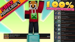 Minecraft | 100% ACHIEVEMENTS  | Bedrock Survival Realm [68]
