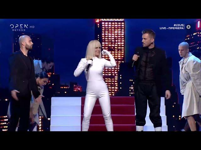 Νικόλας Ραπτάκης και Νατάσα Καλογρίδη τραγουδούν Music | J2US | OPEN TV