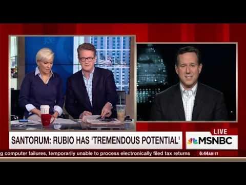 Chris Christie's Latest Ad Attacks Rubio Using Santorum Fails