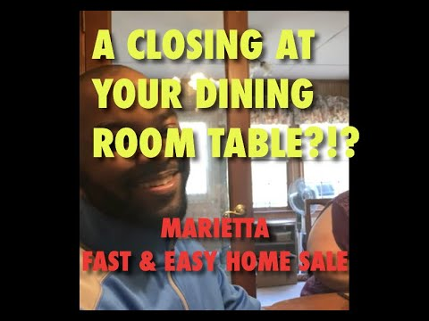 Sell House Fast for Cash in Marietta GA