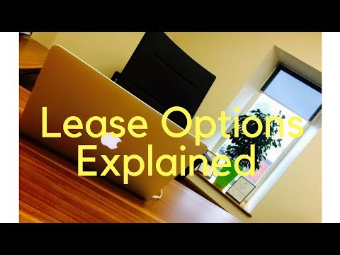 Lease Option's explained simply!