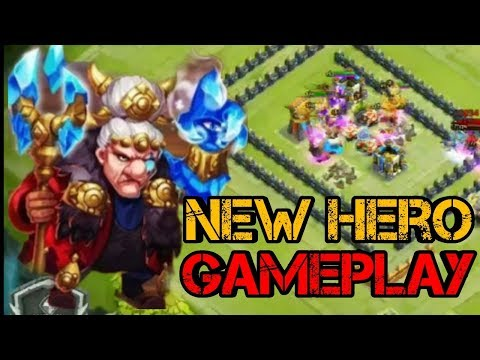 New Hero | Ice Wizard | Gameplay | Castle Clash