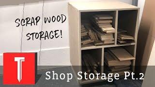Making a Scrap Wood Organizer Shelf!