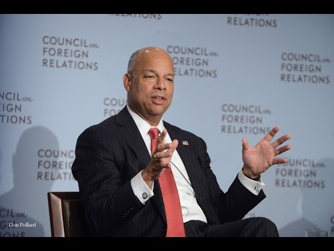 Homeland Security Secretary Johnson on ISIS, Ebola, and Preventing Homegrown Terrorism