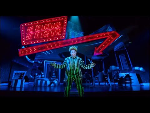 Watch the Trailer for Broadway's Beetlejuice Musical, Featuring Shrimp Monsters, Levitating Dancers, and Shrunken Heads