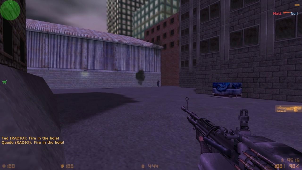 Counter-Strike M60 demo test Cut Content CS - Internal use, demo