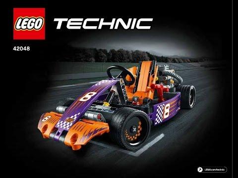 Lego Instructions Technic 42048 Race Kart Book 1 Youtube