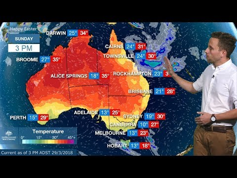 Easter long weekend forecast 2018
