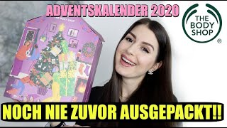 Es geht wieder los 😍  Adventskalender UNBOXING 2020 The Body Shop