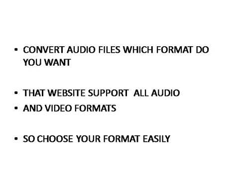 HOW TO CONVERT (PDF,AUDIO,VIDEO)FILES IN ONLINE FOR FREE