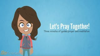 Let's Pray Together! 3 min of guided prayer