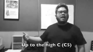 Latihan Nyanyi Nada Tinggi - Teknik Olah Vokal