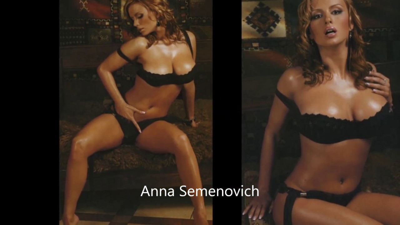Idea anna semenovich sexy video happens