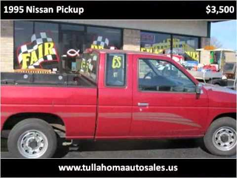 Tullahoma Auto Sales >> 1995 Nissan Pickup available from Tullahoma Auto Sales - YouTube