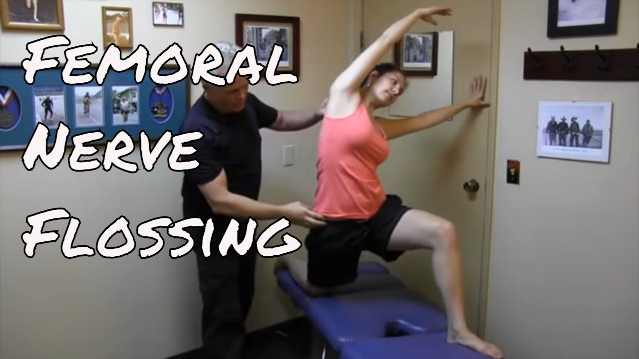 femoral nerve - nerve flossing - kinetic health - youtube, Muscles