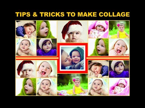 coreldraw tutorials how to create innovative baby collage tips tricks