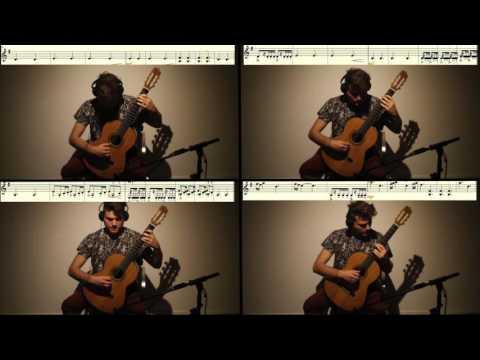 Game of thrones Main Theme song Guitar Quartet Arrangement (cover)