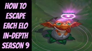 How to Escape Each ELO In-Depth Real Advice -- League of Legends -- Season 9