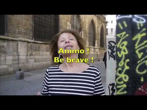 Vidéo Marie Rivière greetings  to Argentina cineclub