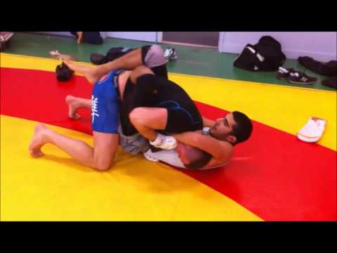 Alpha Fight Club: Combat d'entrainement Sami Dali vs Sébastien Choquet