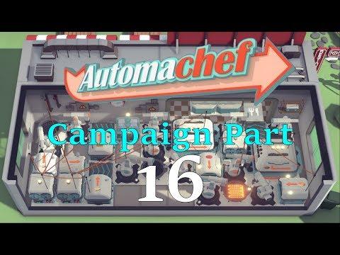 Automachef Campaign Part 16: I Can't Sea | Walkthrough 100% Efficiency |