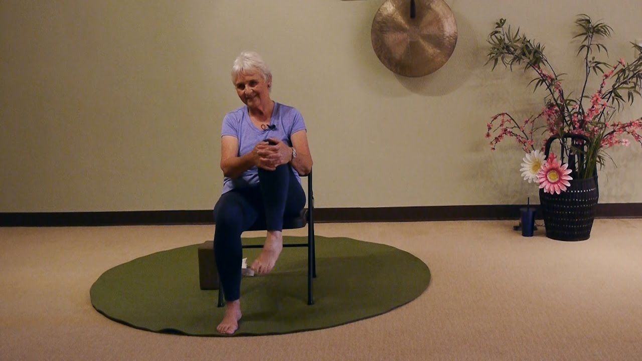 youtube chair yoga rolling accessories the best seated pigeon modification ever with melanie starr teacher