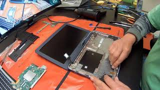 ASUS C202S Chromebook Tear Down, Replacement for Keyboard, Battery and Motherboard