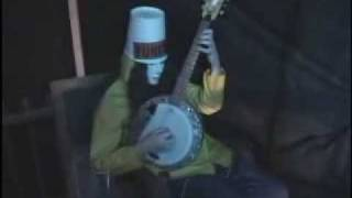 Buckethead Playing Banjo