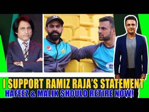 I agree with Ramiz Raja on Hafeez and Malik's retirement