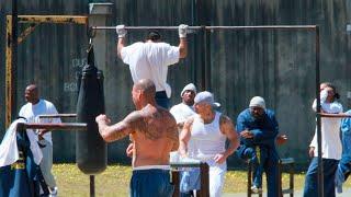 Тренировки в тюрьмах / Как тренируются заключенные?