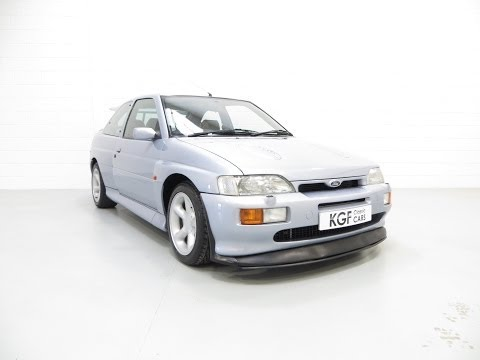A Cherished Ford Escort RS Cosworth with Full History and Just 54,028 miles - SOLD!